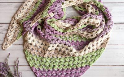 Crochet C2C Scarf free crochet pattern
