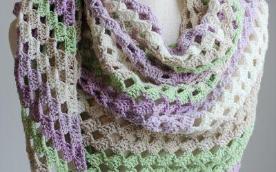 C2C Crochet Scarf Tutorial