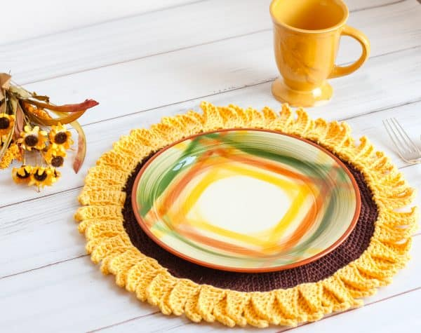 Sunflower Crochet Pattern
