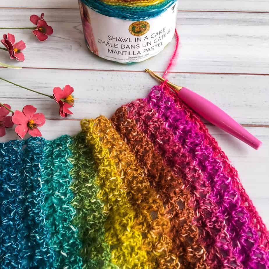 beginner poncho pattern