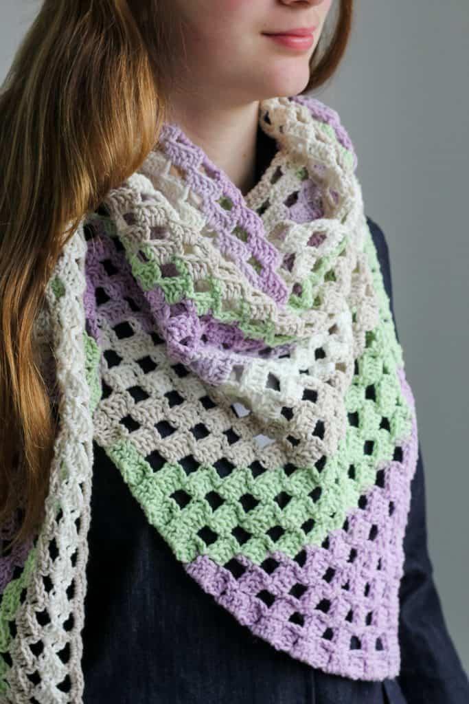 c2c scarf tutorial