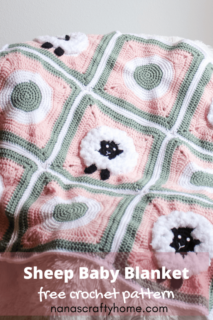 lamb crochet blanket pattern