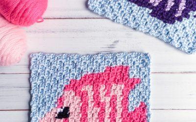 Crochet Fish Pattern free c2c pattern