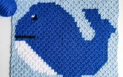 Crochet Whale Pattern free c2c graph