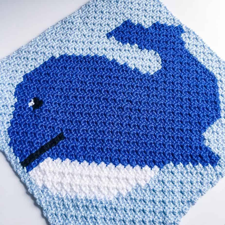 free crochet whale pattern