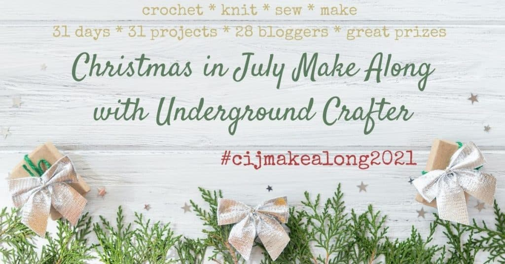 Christmas in July Makealong Event 2021