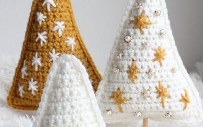 Crochet Christmas Tree free Holiday decor pattern