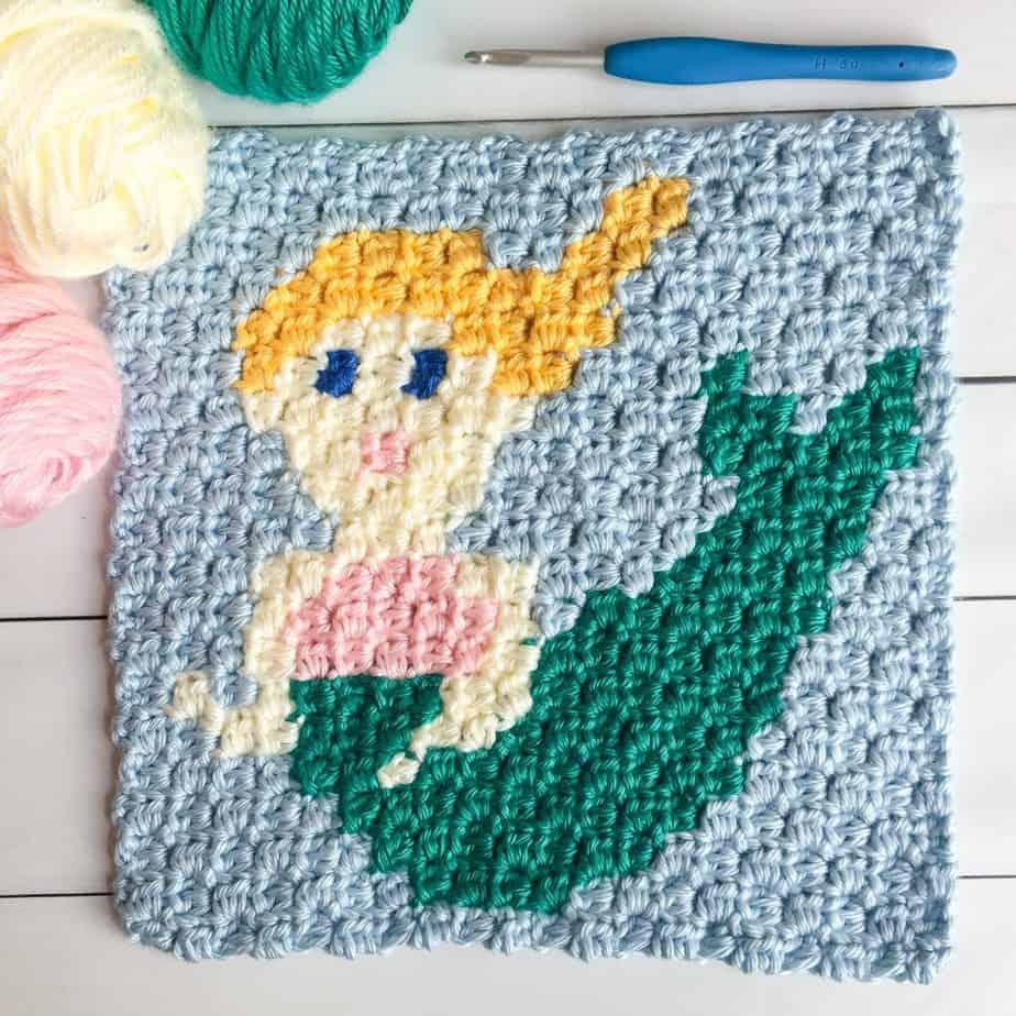 free crochet mermaid pattern