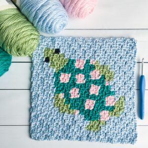 sea turtle free crochet pattern