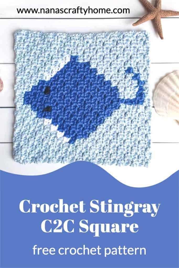 stingray free crochet pattern