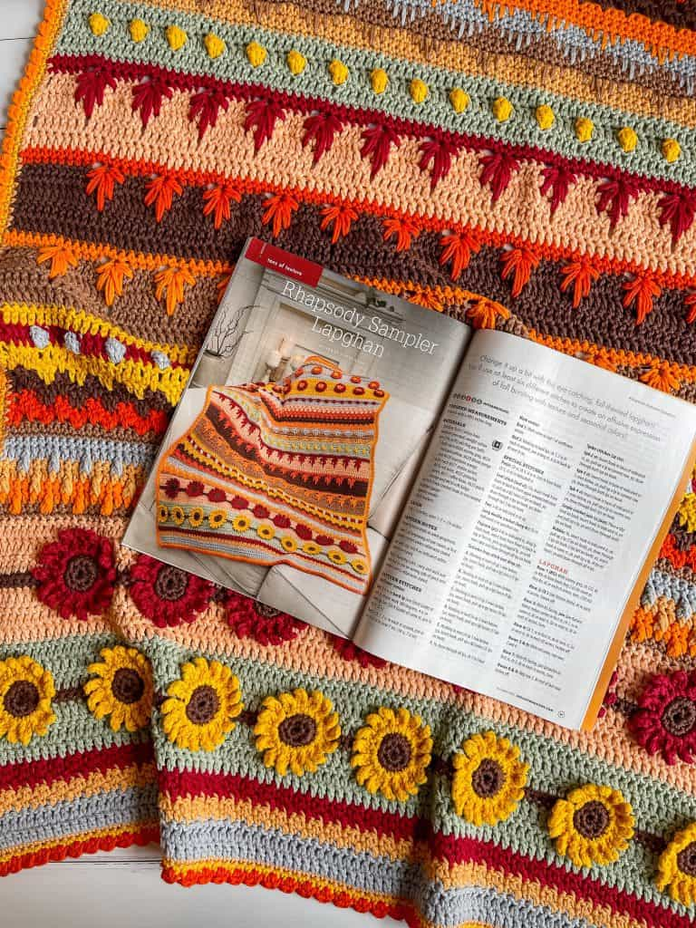 Autumn crochet magazine patterns