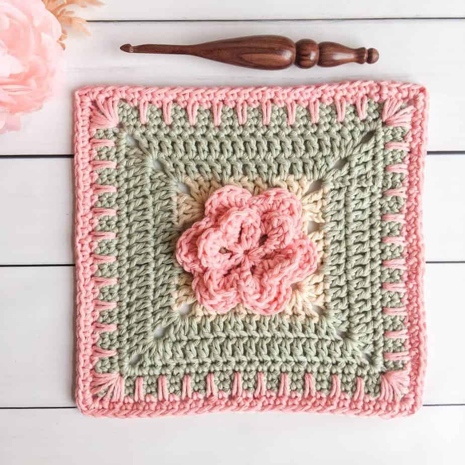 Garden Walk Crochet Square