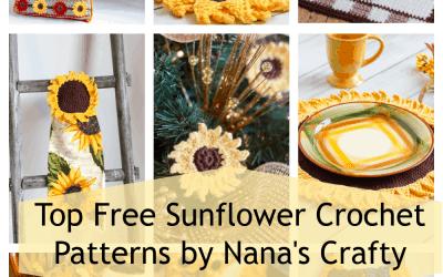 Sunflower Crochet Patterns