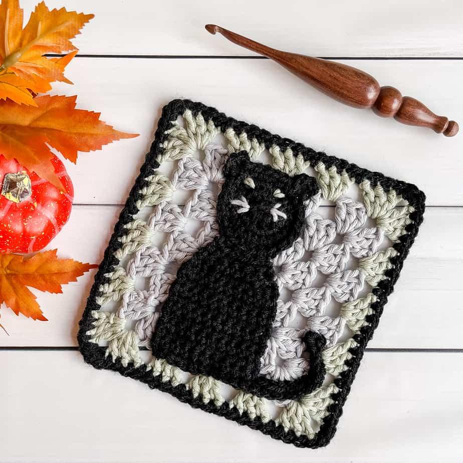 Cat's Meow Square free crochet pattern