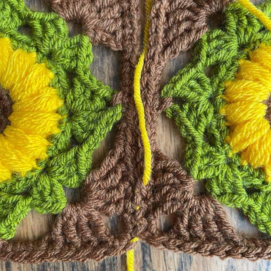 Invisible Join Mattress Stitch