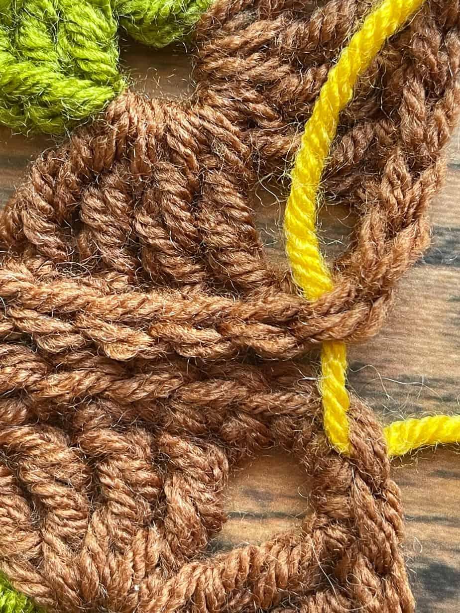 mattress stitch process 1