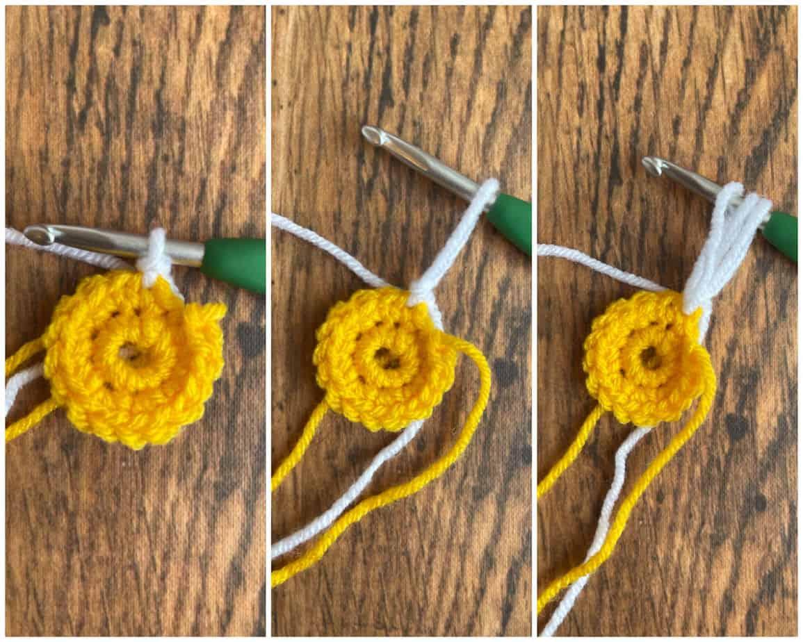Sunflower Square process 1