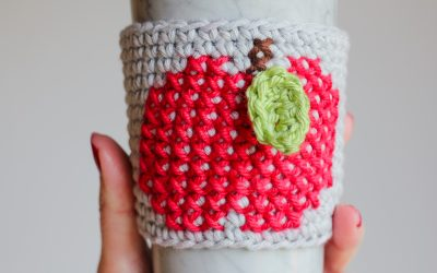 Learn How to Cross Stitch on Single Crochet Tutorial