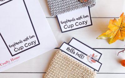 Crochet Easy Beginner Coffee Cup Cozy Free Pattern