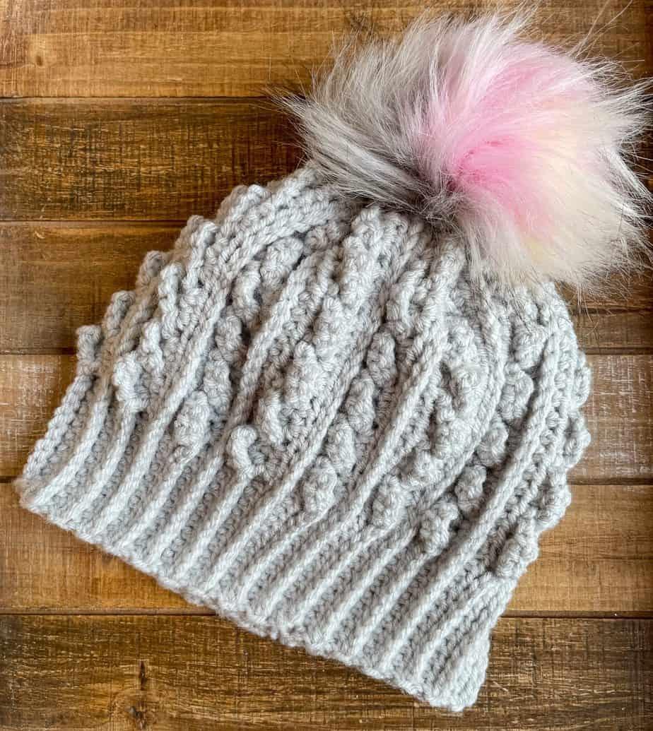 beanie crochet hat free pattern